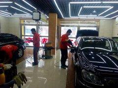 洗车人家汽车美容 洗车服务前景广