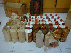 柳州回收茅台酒,五粮液,剑南春,老汾酒