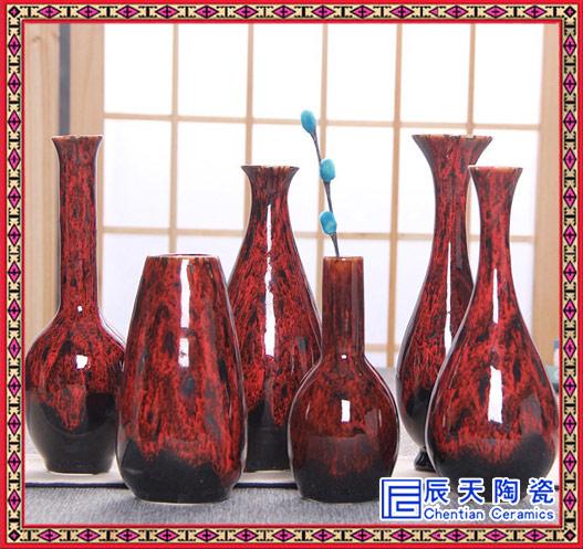 新品欧式景德镇陶瓷落地大花瓶家居客厅酒店别墅装饰摆件组合