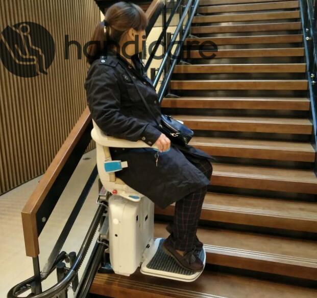为什么说购买直线型座椅电梯推荐认准安迪凯?