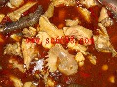 口味麻辣鲜美火锅鸡的材料