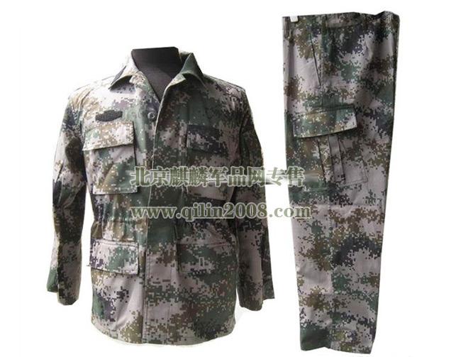 正品军用迷彩服,夏季体能服,丛林迷彩作训服