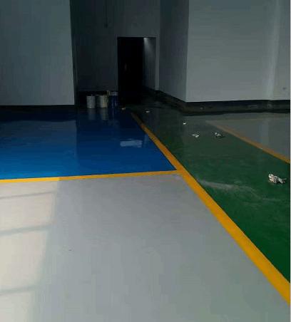 青岛黄岛做环氧自流平地面漆公司项目案例