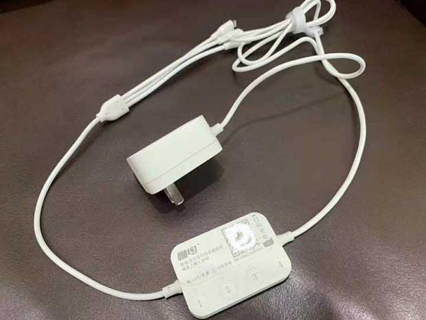 咻电酒店共享充电线,密码机充电线