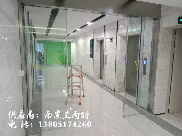 南京钢化玻璃门定制