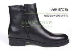 正品军工皮鞋军用3515皮鞋冬季保暖绒皮鞋