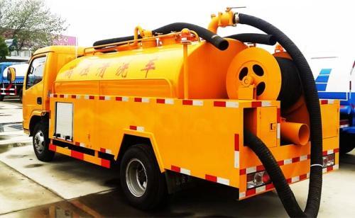 东营专业高压车疏通管道高压清洗管道抽化粪池