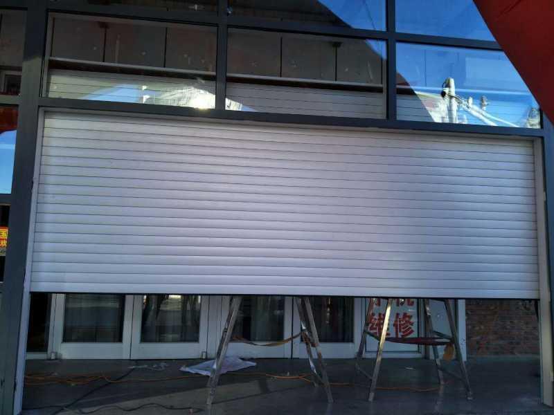 南开区安装电动卷帘门安装水晶卷帘门安装车库门